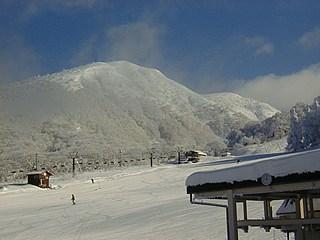 冬の刈田岳 1
