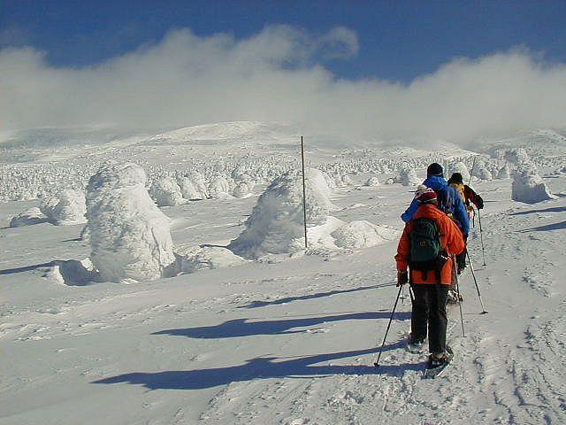 冬の刈田岳 10