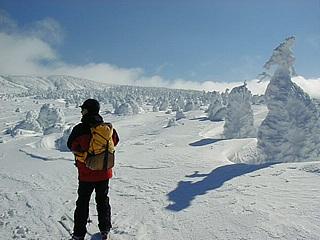 冬の刈田岳 11