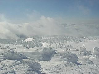 冬の刈田岳 12