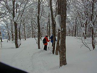 冬の刈田岳 22
