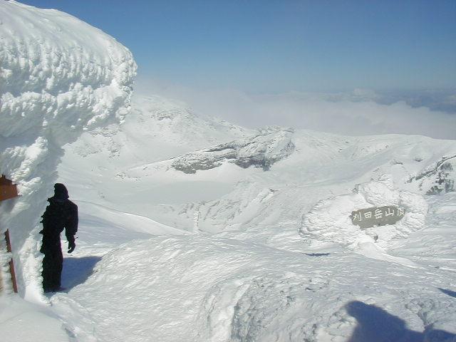 冬の刈田岳 23