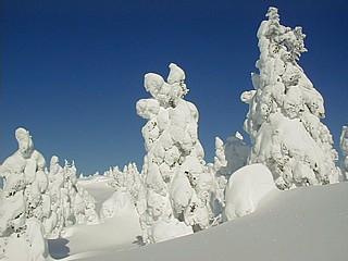 冬の刈田岳 3
