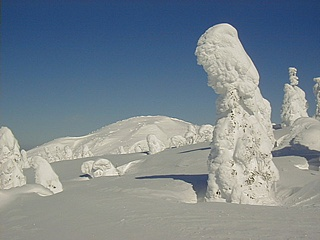 冬の刈田岳 4
