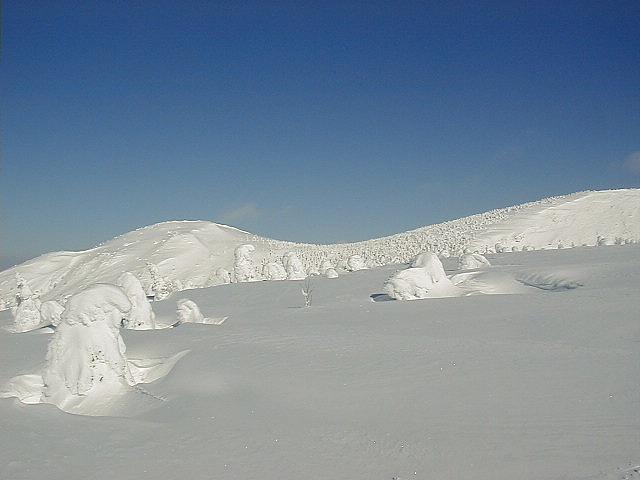 冬の刈田岳 5