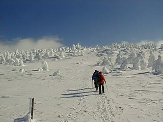 冬の刈田岳 6
