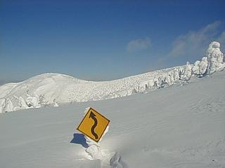 冬の刈田岳 7